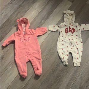 Baby 0-3 warm gap onesies